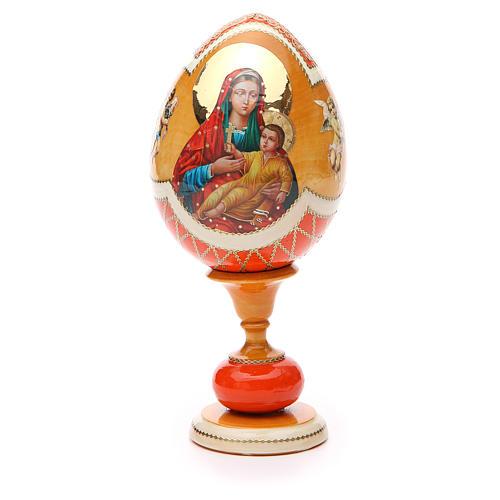 Russian Egg Kozelshanskaya découpage, Fabergè style 20cm 1