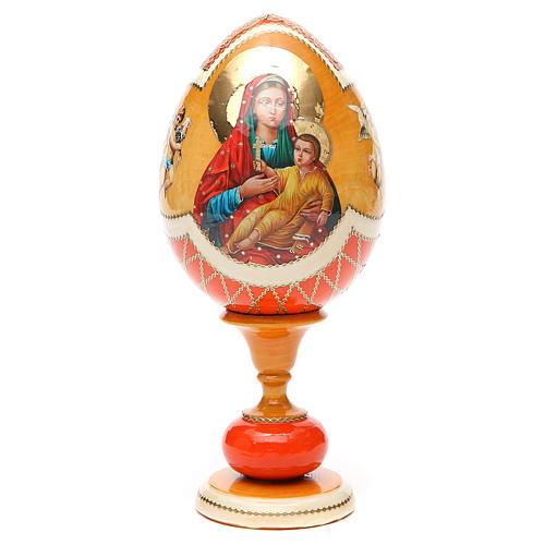 Russian Egg Kozelshanskaya découpage, Fabergè style 20cm 5