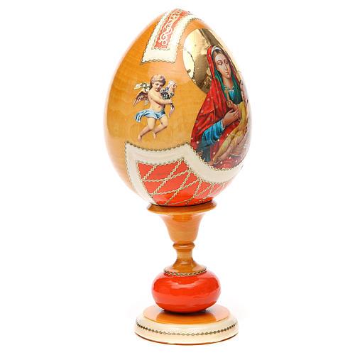Russian Egg Kozelshanskaya découpage, Fabergè style 20cm 8
