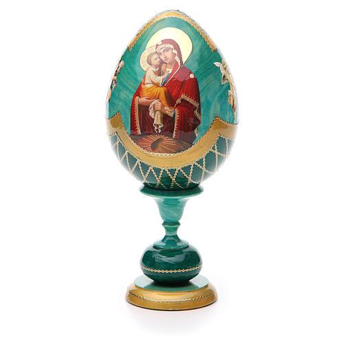 Russian Egg Pochaevskaya découpage, Fabergè style 20cm 1