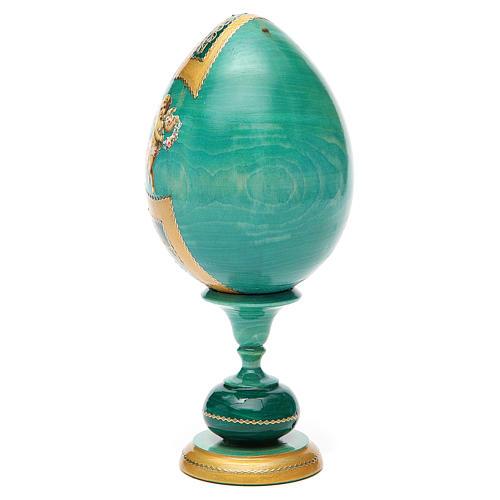 Russian Egg Pochaevskaya découpage, Fabergè style 20cm 7
