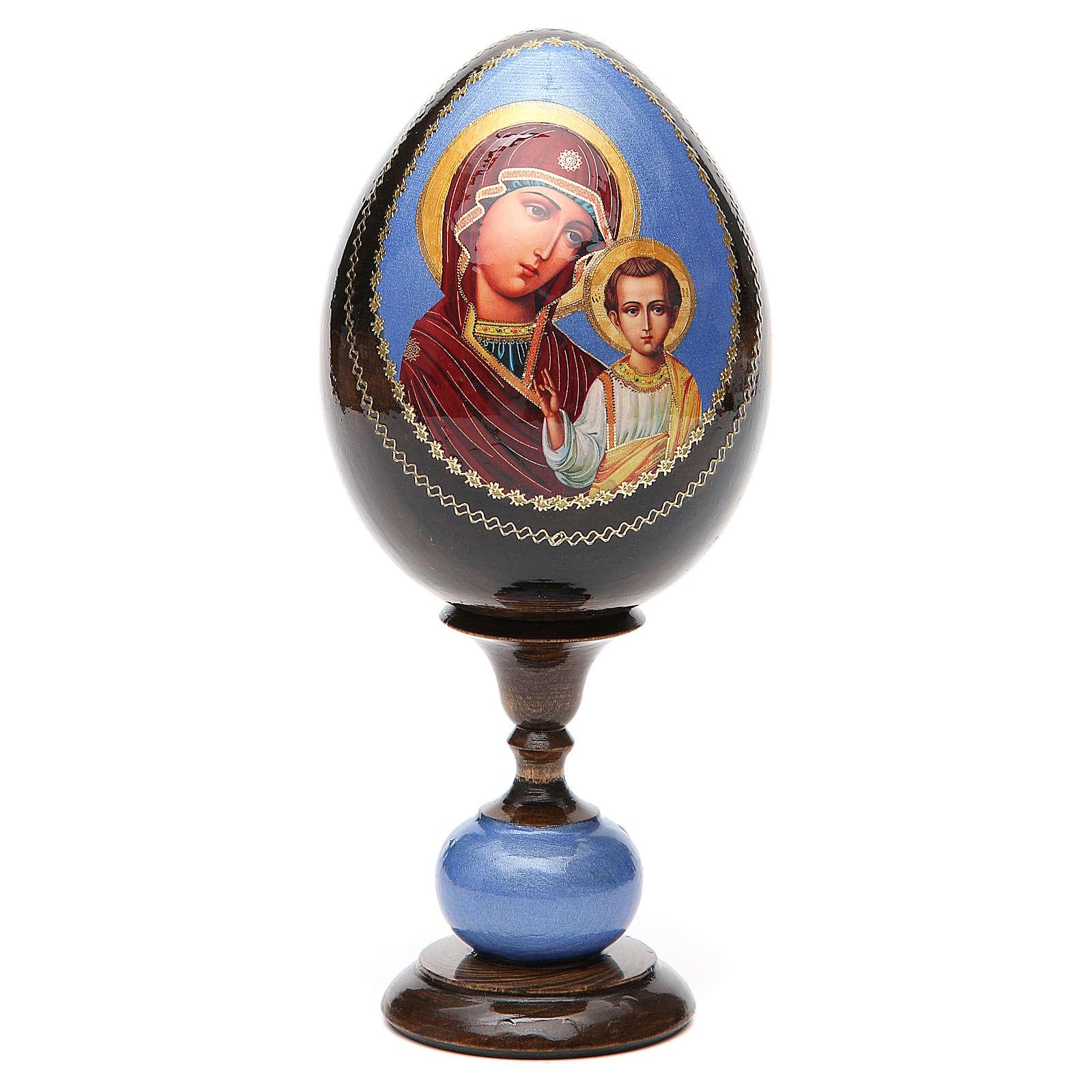 Huevos icono découpage rusia Kazanskaya tot h 20 cm  (huevo 13cm) 4