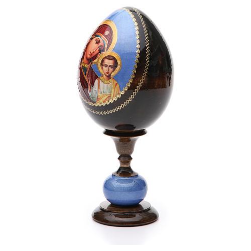 Uovo icona découpage Russia Kazanskaya tot h 20 cm 2