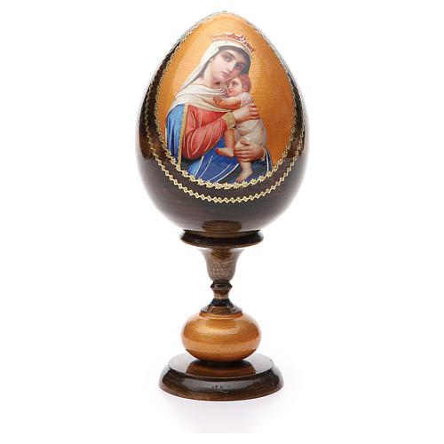 Huevo découpage Rusia Esperanza a los desgraciados tot h 20 cm 1