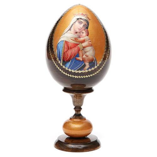 Huevo découpage Rusia Esperanza a los desgraciados tot h 20 cm 5