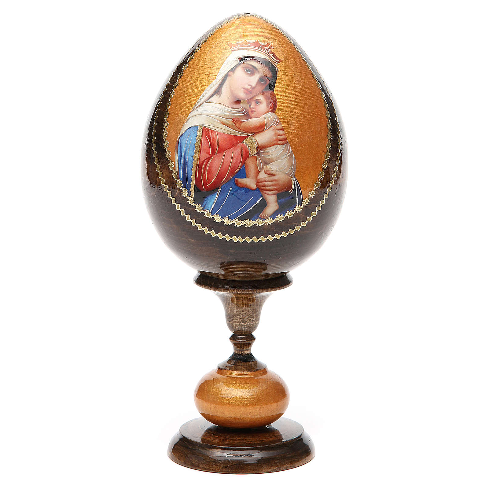 Russian Egg Hope to desperates découpage 20cm 4