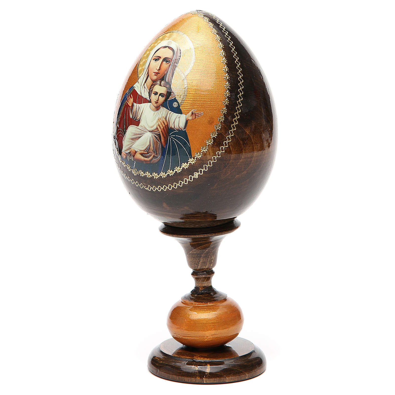 Russian Egg I'm with you découpage 20cm 4