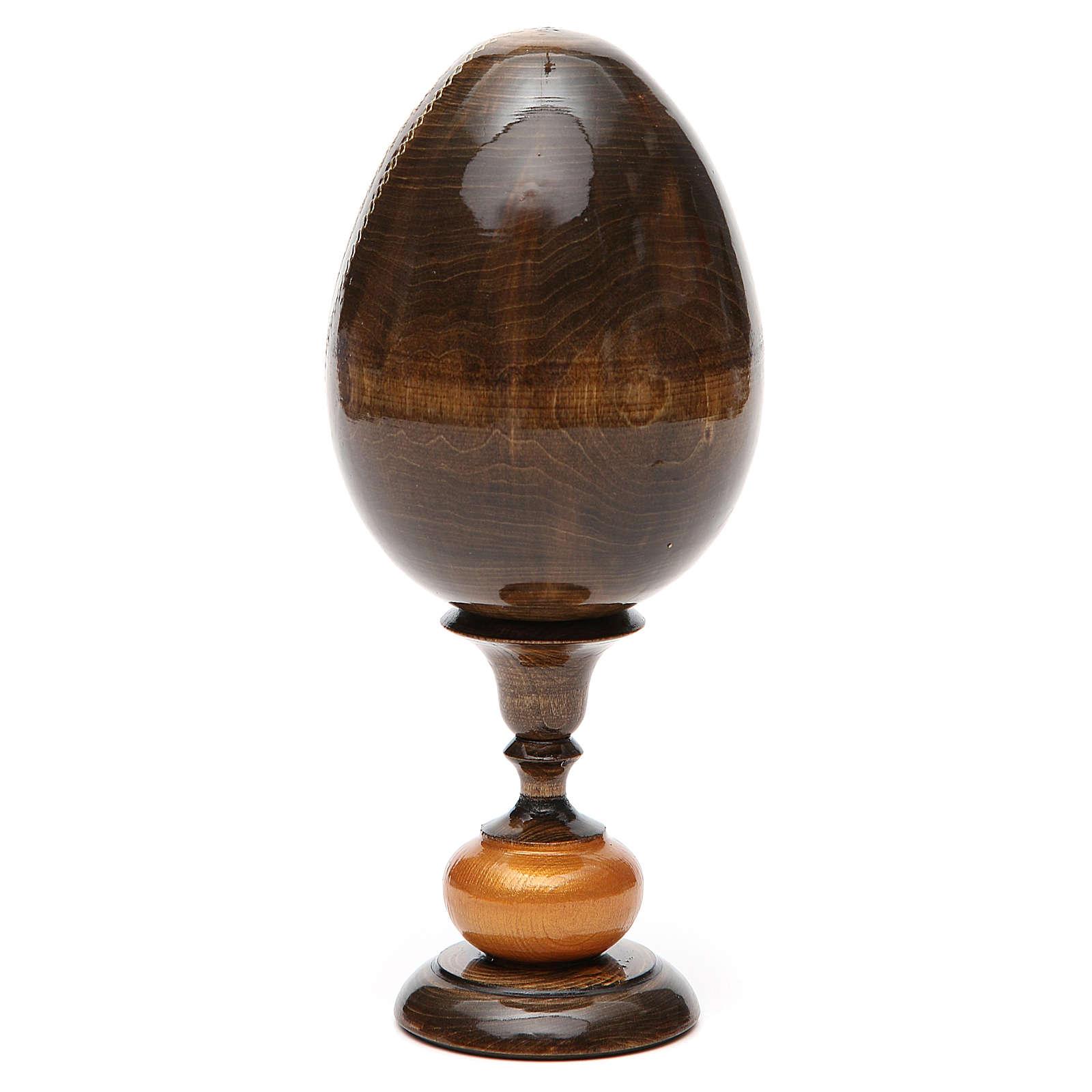Huevo icono découpage Trinidad Roblav tot 20 cm 4