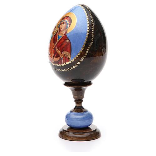 Huevo icono découpage tres manos tot h 20 cm 2