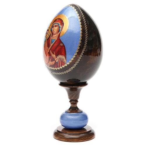 Huevo icono découpage tres manos tot h 20 cm 6