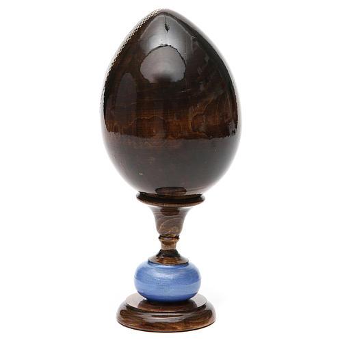 Huevo icono découpage tres manos tot h 20 cm 7
