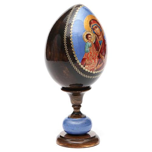 Huevo icono découpage tres manos tot h 20 cm 8