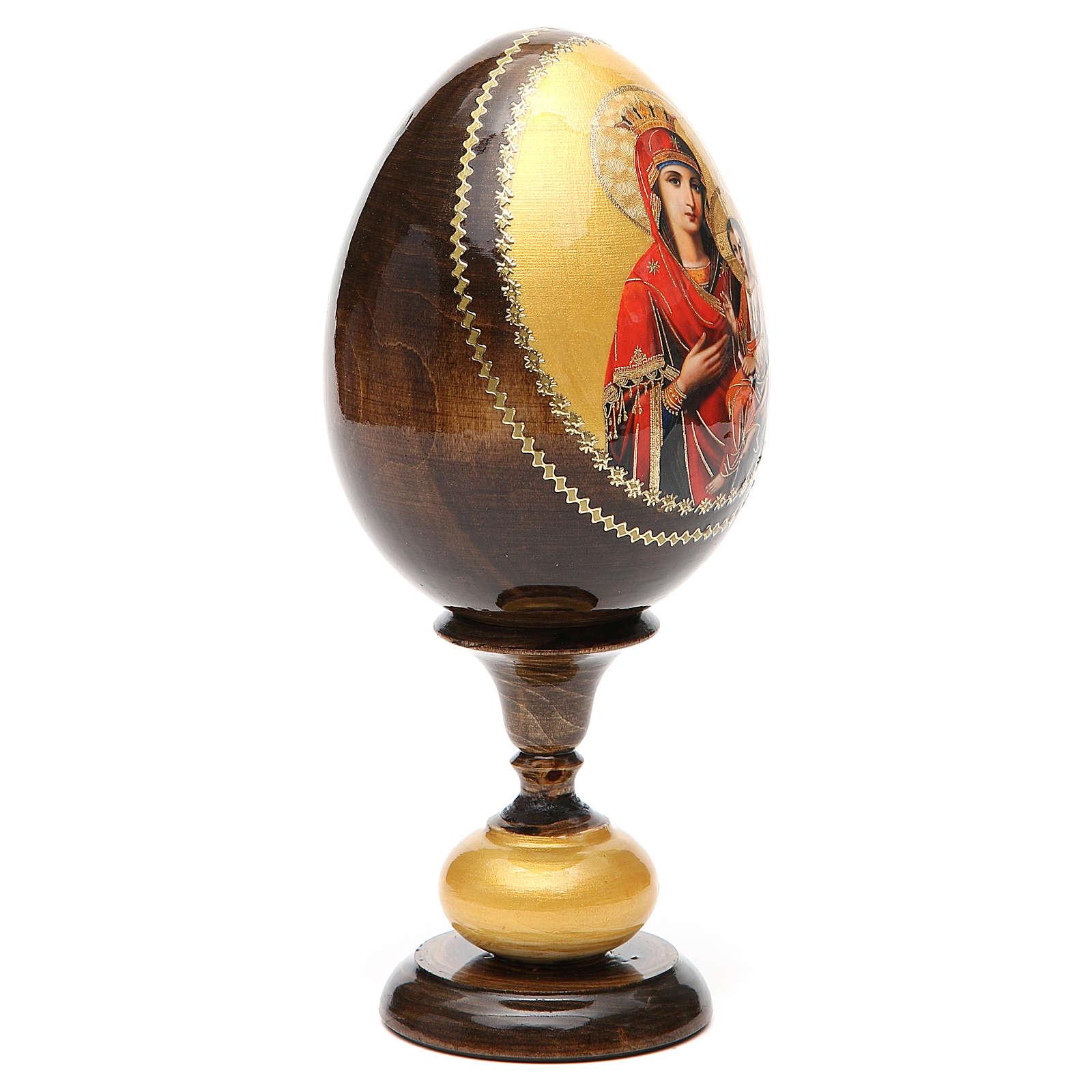 Huevo icono découpage Odigitria  Gorgoepikos tot h 20  cm 4