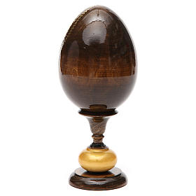 Huevo icono découpage Odigitria  Gorgoepikos tot h 20  cm s7