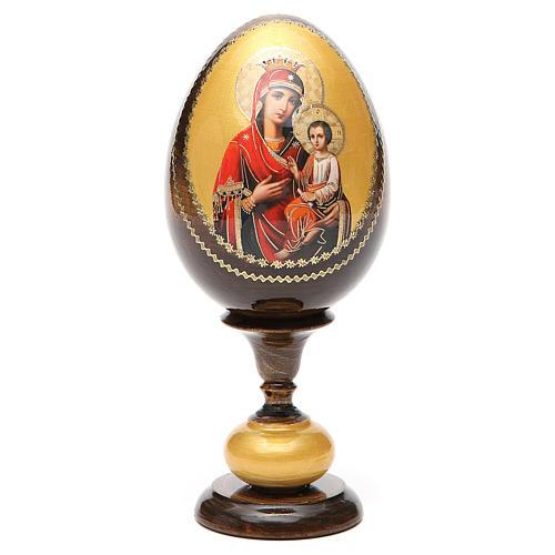 Huevo icono découpage Odigitria  Gorgoepikos tot h 20  cm 5