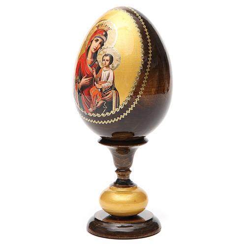 Huevo icono découpage Odigitria  Gorgoepikos tot h 20  cm 6