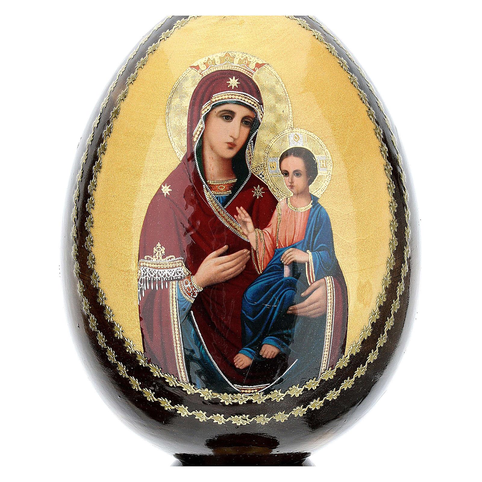 Uovo icona découpage Odigitria Gorgoepikos tot h 20 cm 4