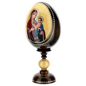 Uovo icona découpage Odigitria Gorgoepikos tot h 20 cm s3