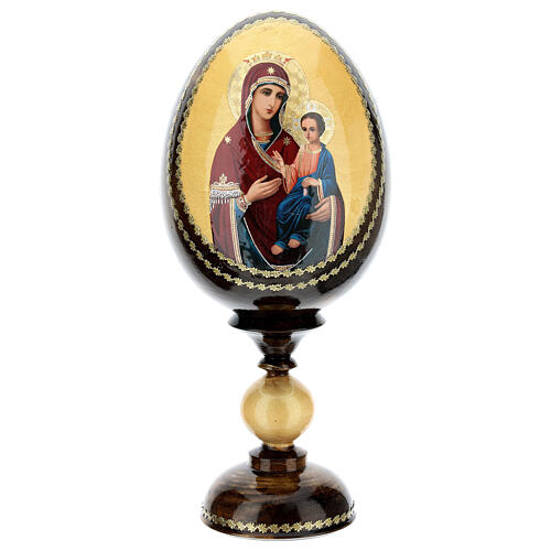 Uovo icona découpage Odigitria Gorgoepikos tot h 20 cm 1