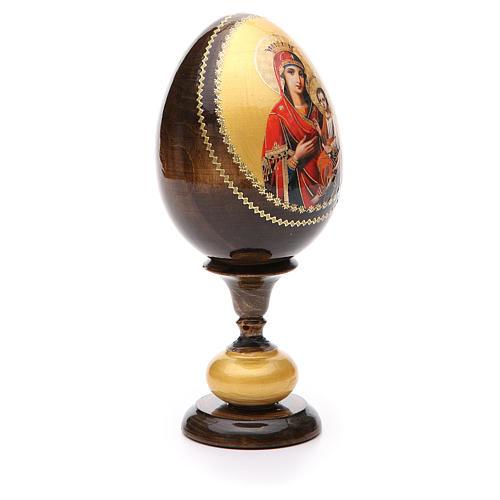 Russian Egg Idigitria Gorgoepikos découpage 20cm 4
