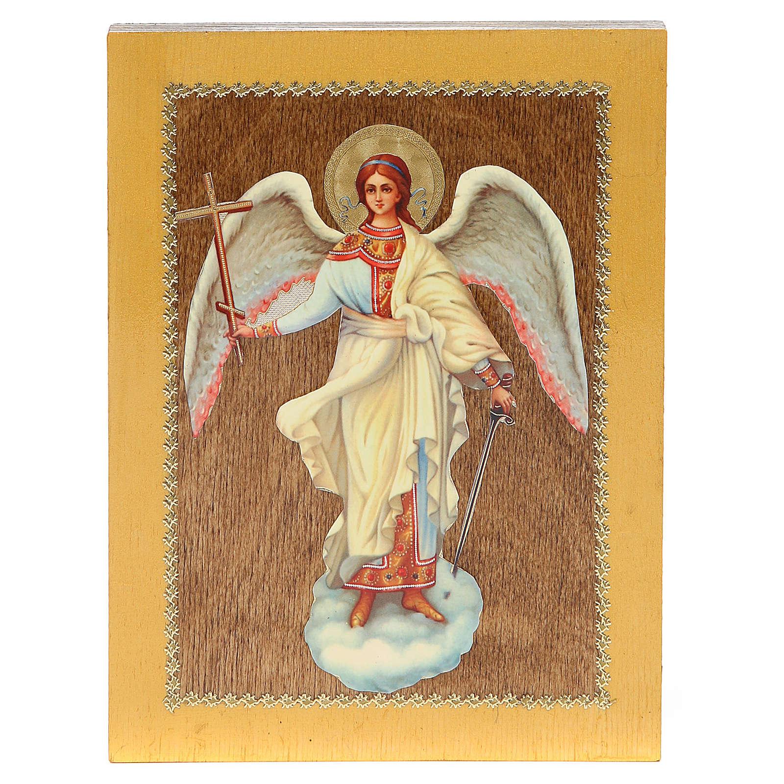 Icono Ruso Ángel de la Guarda 20x15 cm 4