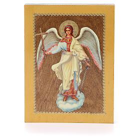 Icono Ruso Ángel de la Guarda 20x15 cm s1
