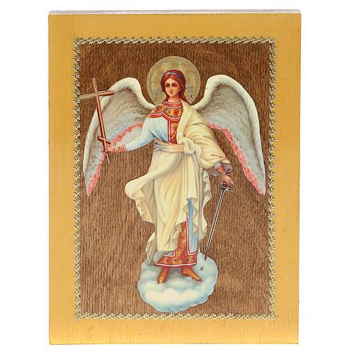 Icono Ruso Ángel de la Guarda 20x15 cm 3