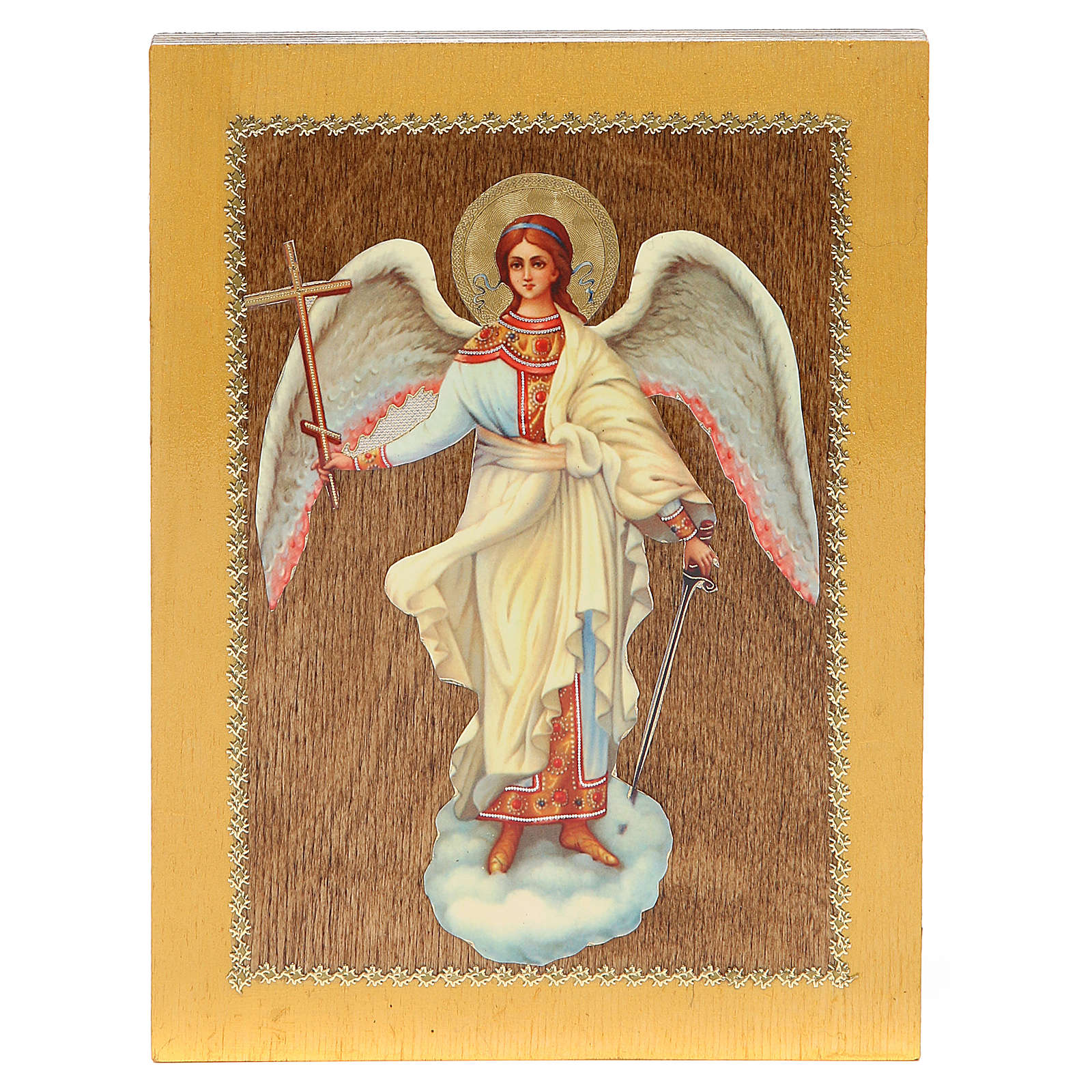Russian icon Guardian Angel 20x15 cm 4