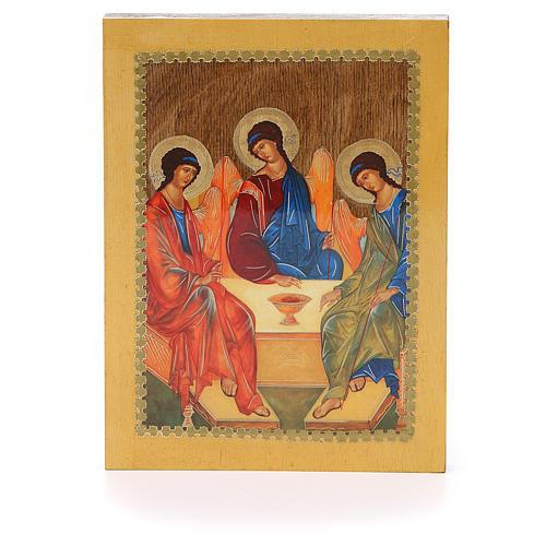 Russian icon Trinity of Rublev 20x15 cm 1