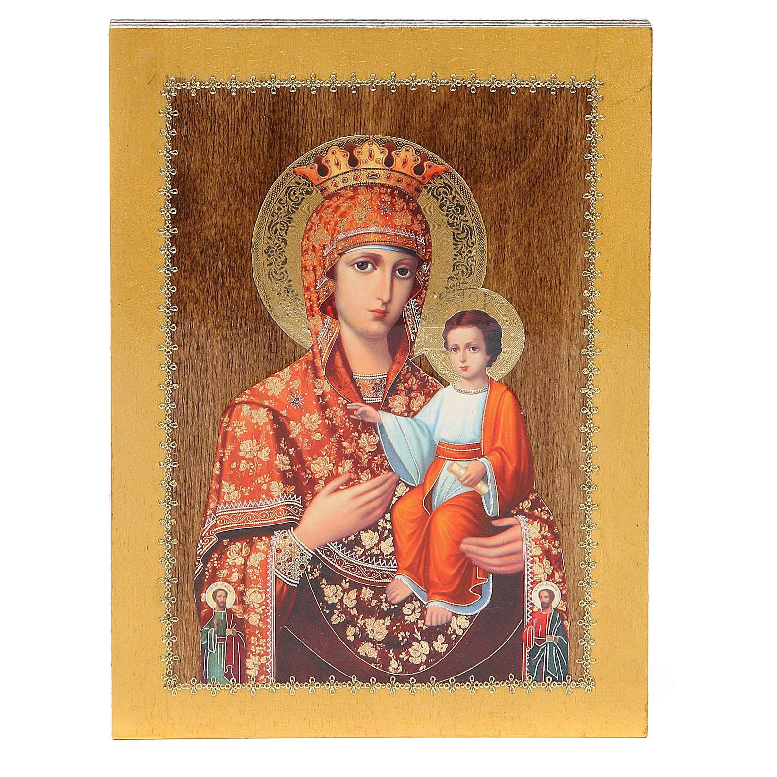 Icona Russa Autodisegnata 20x15 cm 4