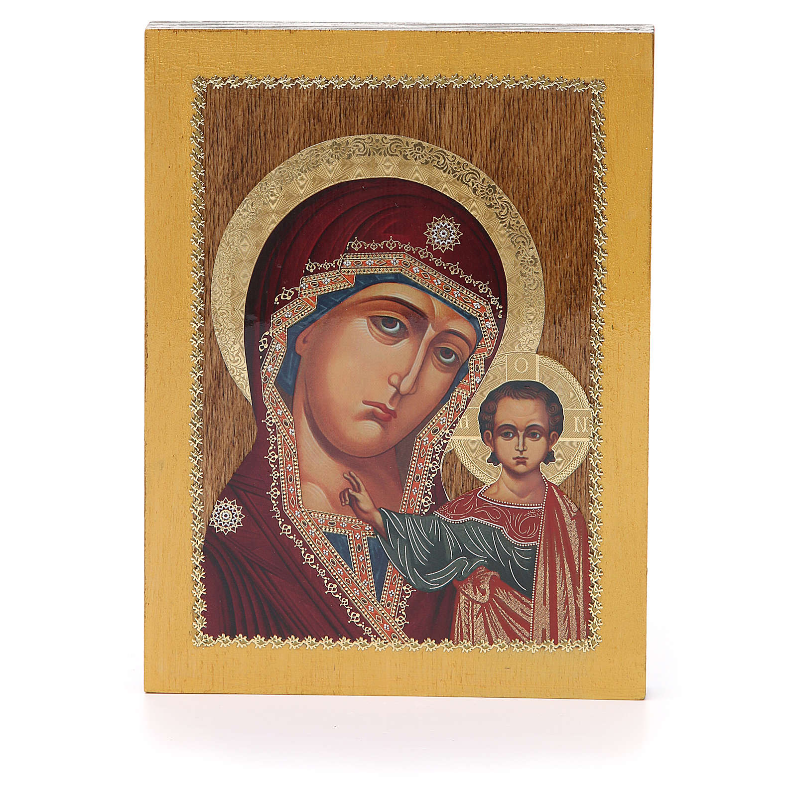Russian icon Kazanskaya 20x15 cm 4
