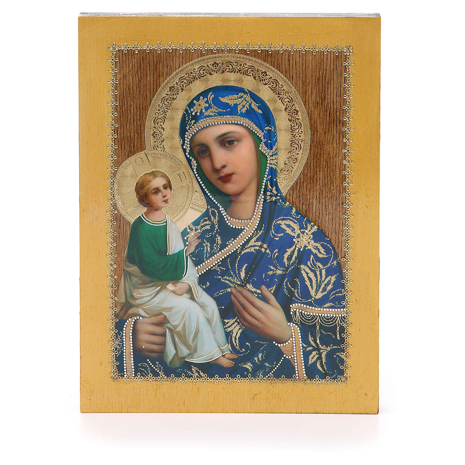 Russian icon Jerusalemskaya 20x15 cm 4