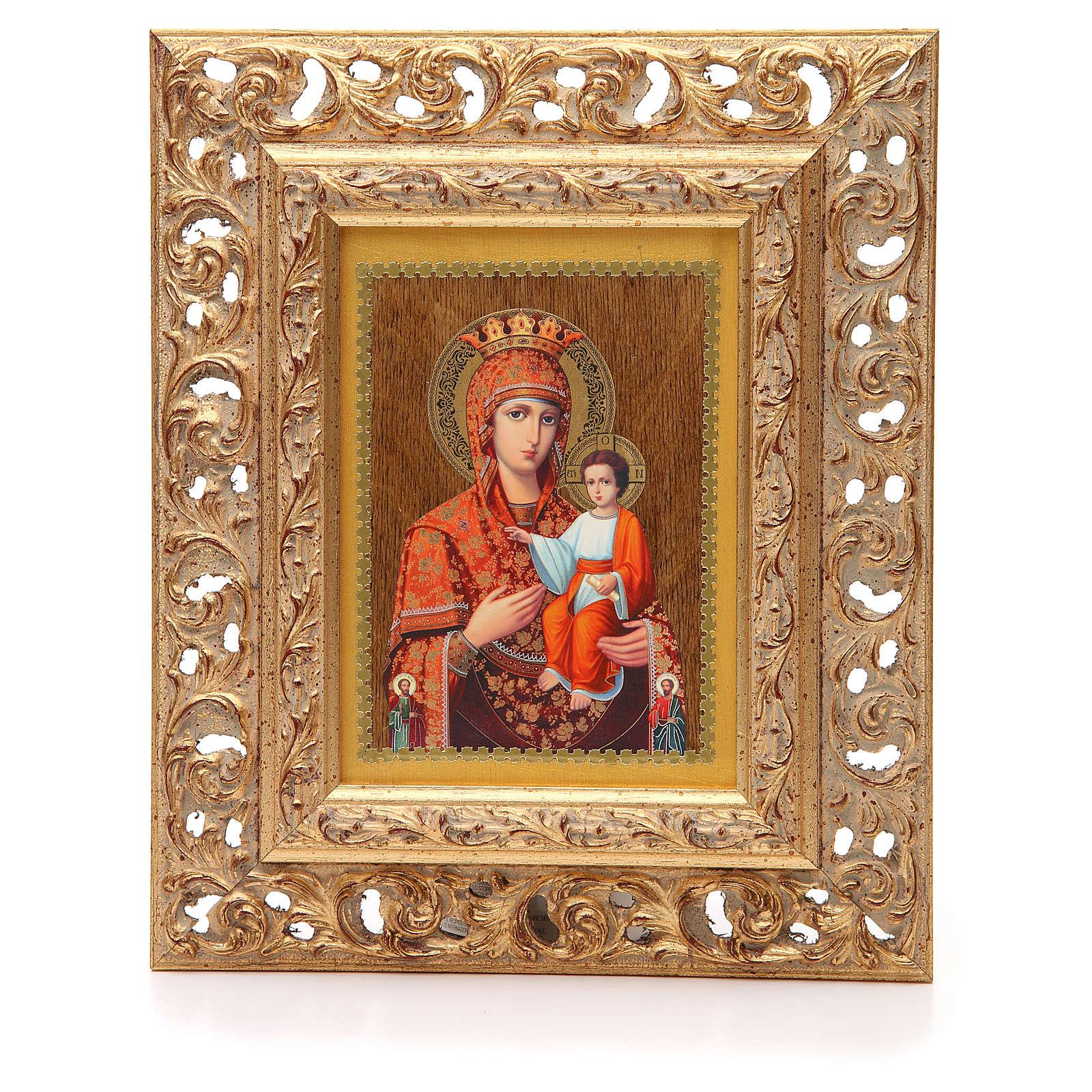 Icona russa serigrafata cornice Autodisegnata 4