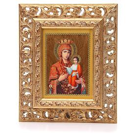 Icona russa serigrafata cornice Autodisegnata s1