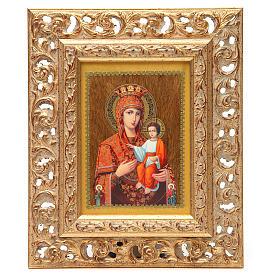 Icona russa serigrafata cornice Autodisegnata s3