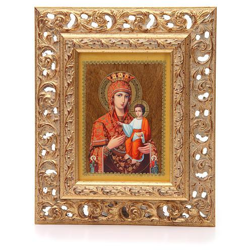 Icona russa serigrafata cornice Autodisegnata 1
