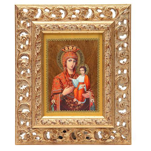 Icona russa serigrafata cornice Autodisegnata 3