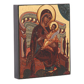 Russian icon, Mary