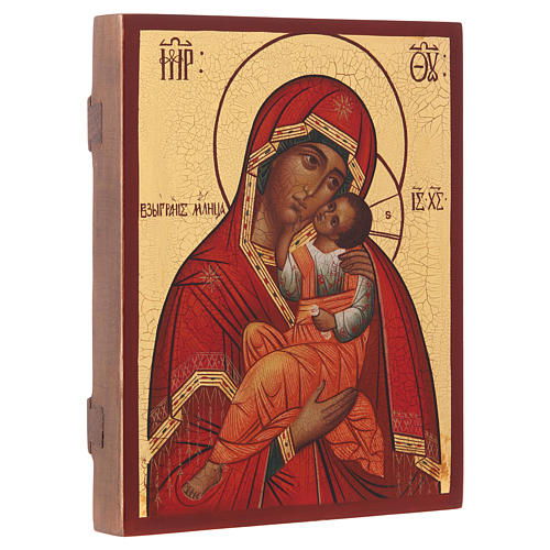 Icona russa Madonna Tenerezza