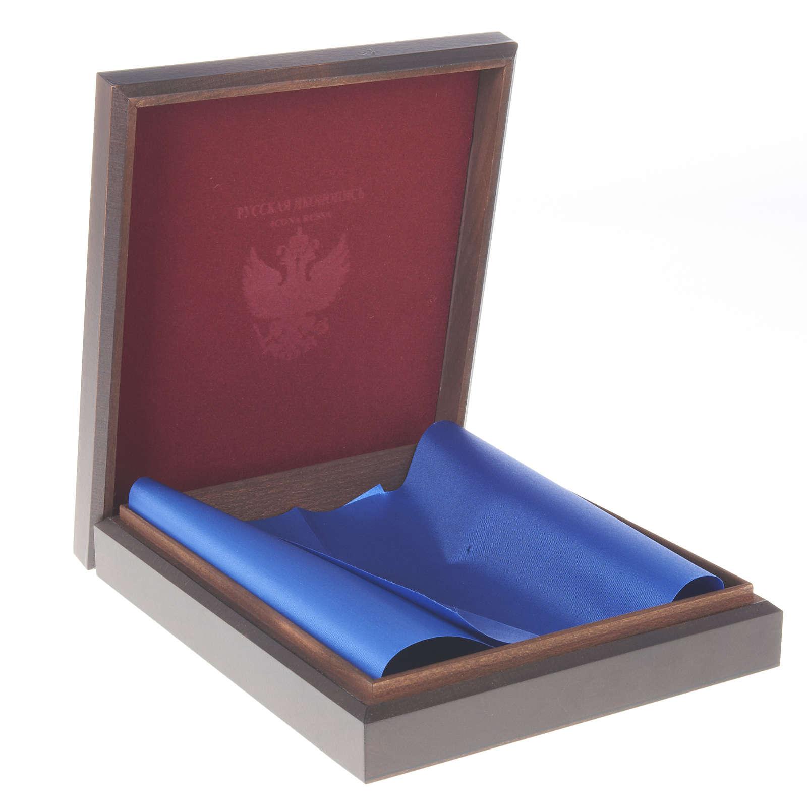 Estojo russo em madeira para ícones 4