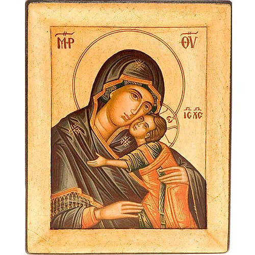 Icona Vergine Glikofilussa Grecia 1