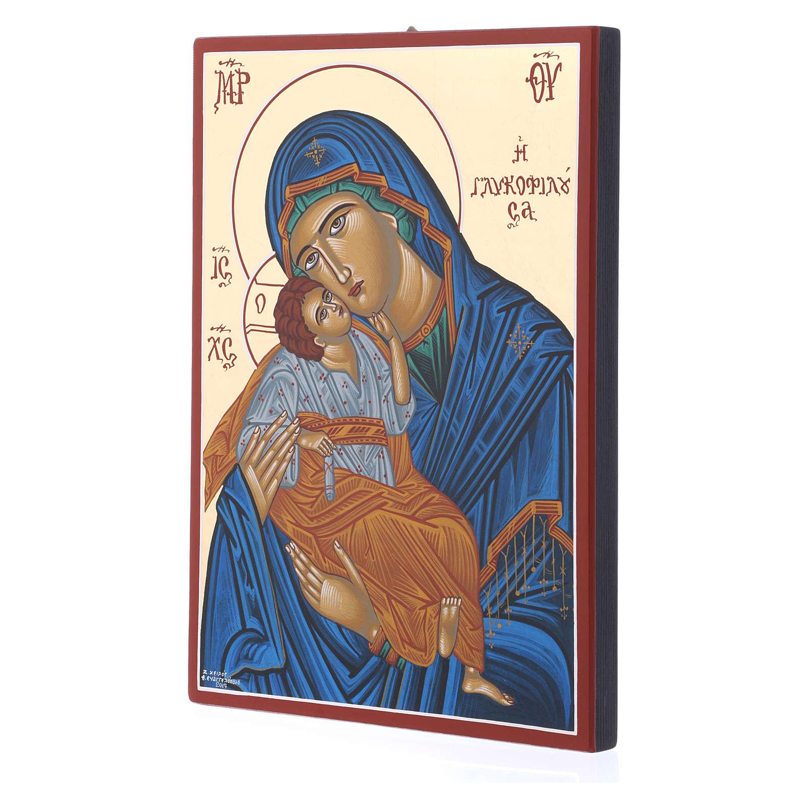 Ícono Virgen Eleousa 4