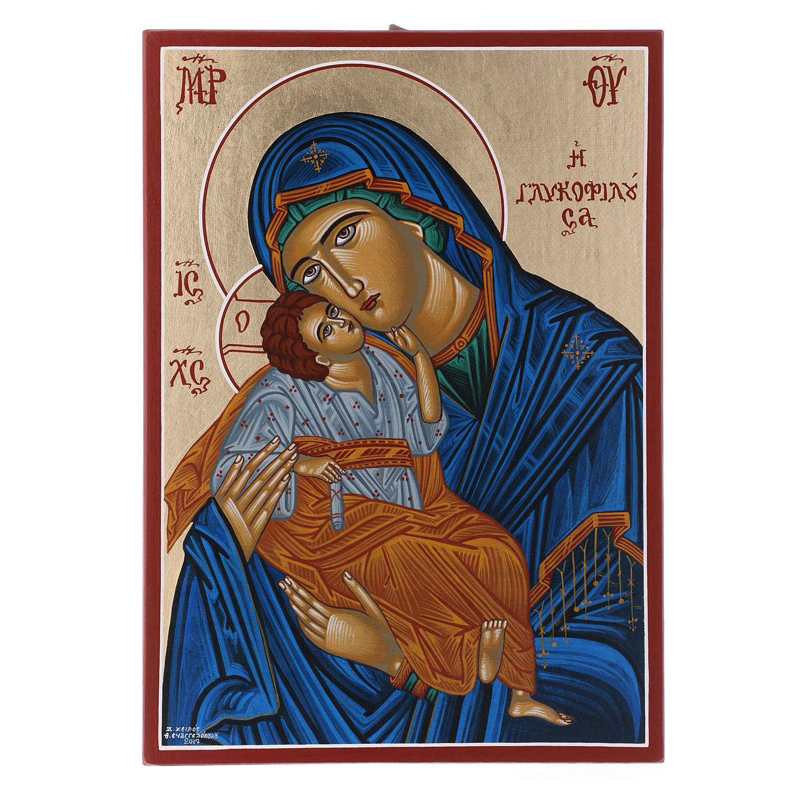 Icona Vergine Eleousa 4