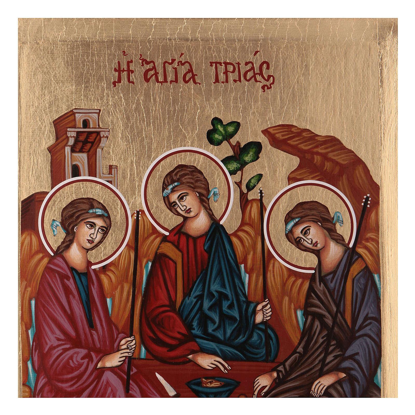 Icona SS Trinità Rublev 4