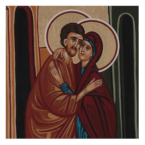 Ikona ślub Joachima i Anny 2