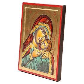 Icône Vierge de Kasperov fond en or s2
