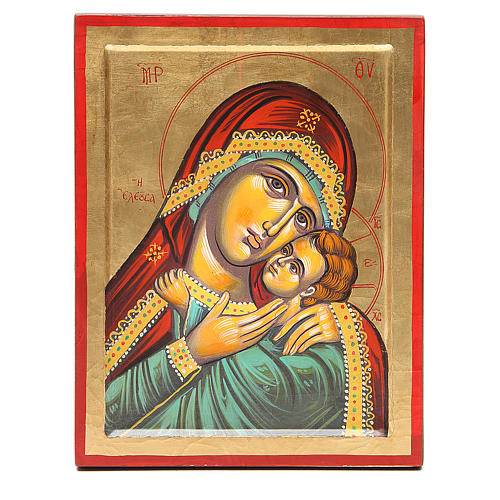 Icône Vierge de Kasperov fond en or 1