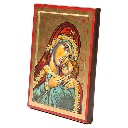 Icône Vierge de Kasperov fond en or 2