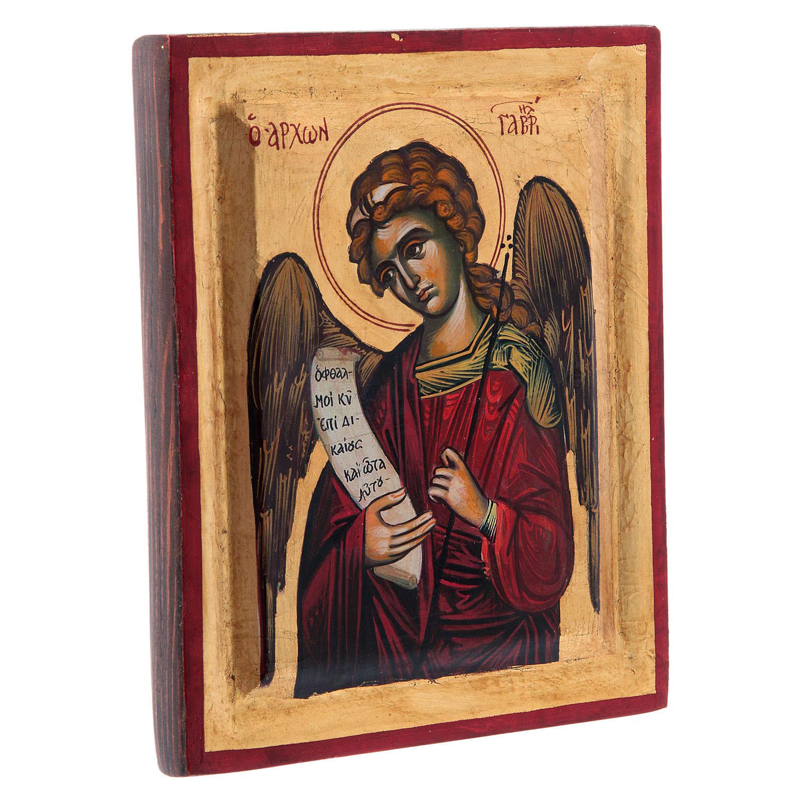Ícone Arcanjo Gabriel 4