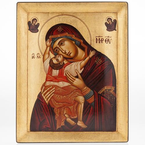 Icona Madre di Dio Odighitria dipinta Grecia 1